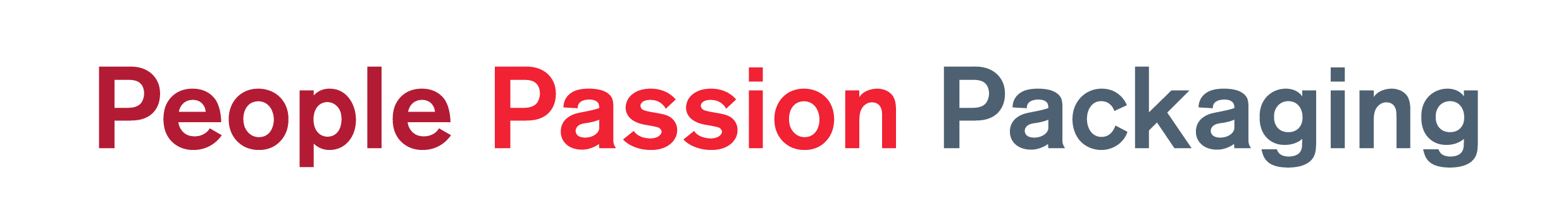People Passion Packaging